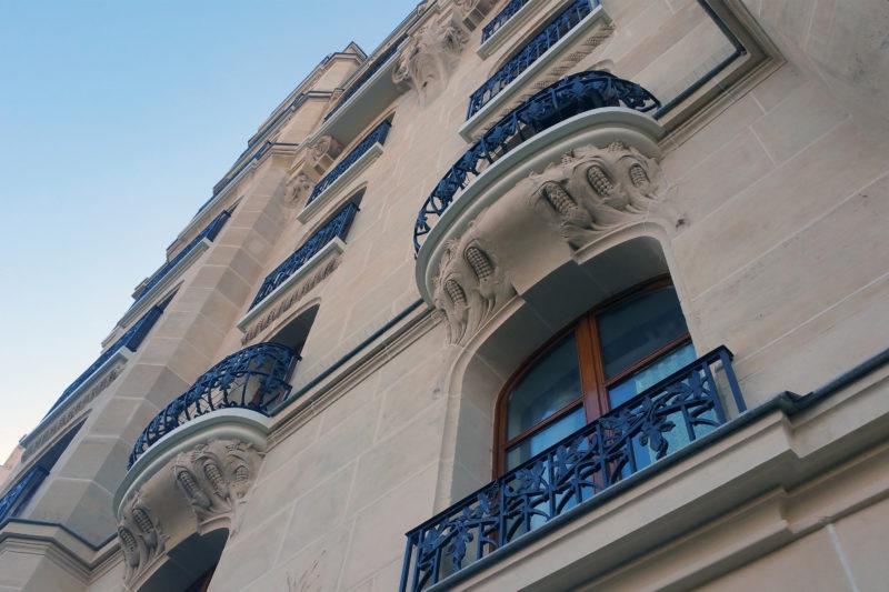 Ravalement d'un immeuble Art Nouveau