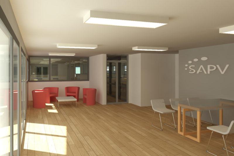 Bâtiment de bureaux modulaire