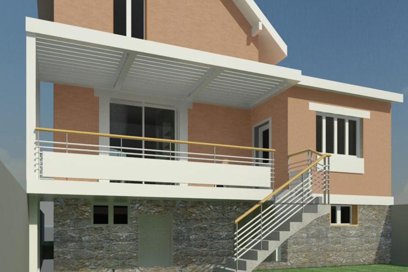 Rénovation – Terrasse couverte